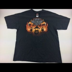 Harley Davidson shirt adult xl black motorcycle